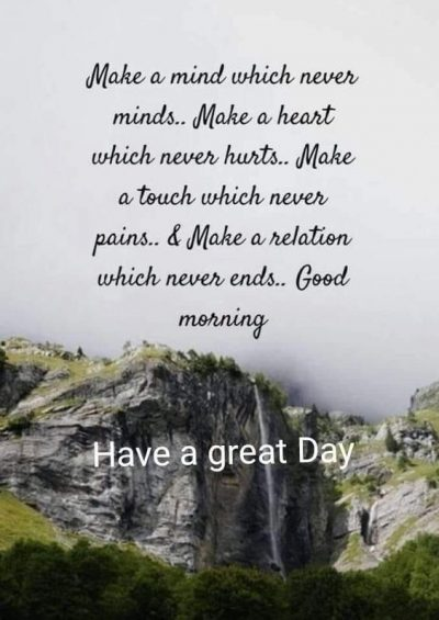 Great Day Morning Quotations