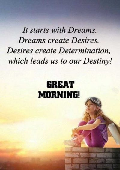 Morning Desire Sayings
