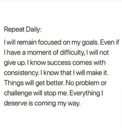 Best Daily Reminders For Success
