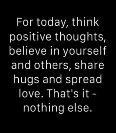 Positive Thought Of The Day