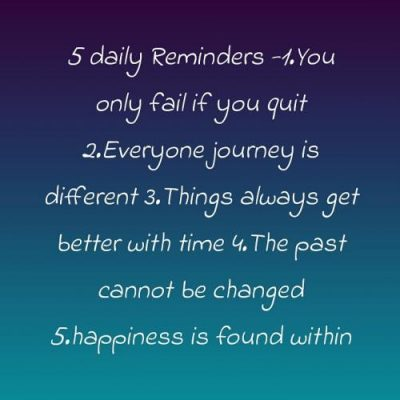 Simple Daily Reminders