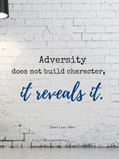 Adversity Picture Quote