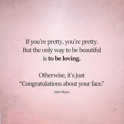 Beautiful Inside & Out Quote