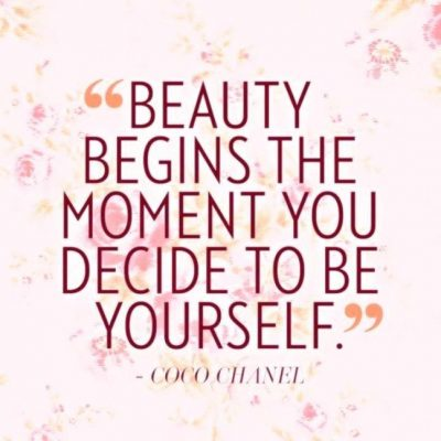 Beauty Begins With Yourself