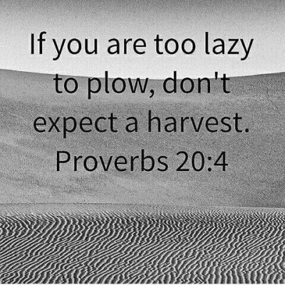 Bible Sayings On Lazy People