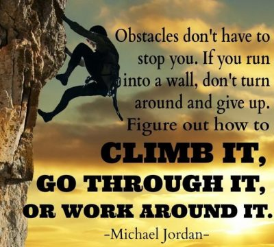 Famous Quotes About Overcoming Obstacles
