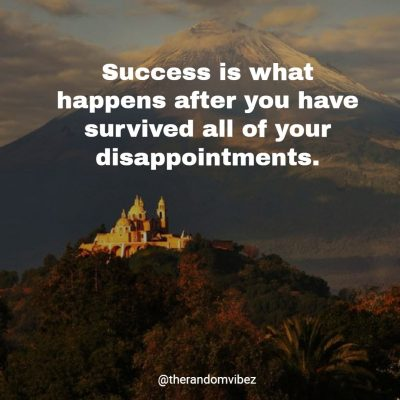 Inspirational Success Quotes