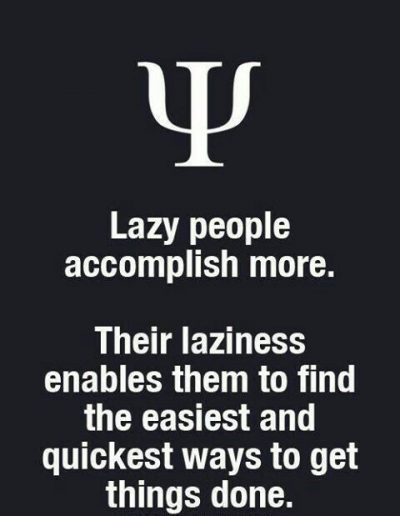 Lazy Man Quotes