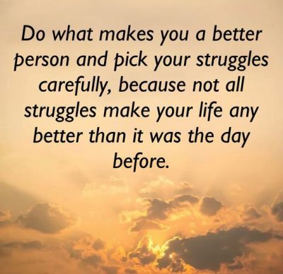 Life Struggle Inspirational Quotes
