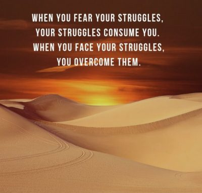 Quotations To Overcome Struggle