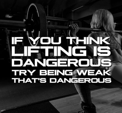 Weightlifting Inspiration