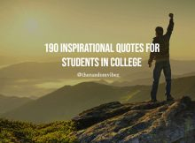 190 Inspirational Quotes For Students In College