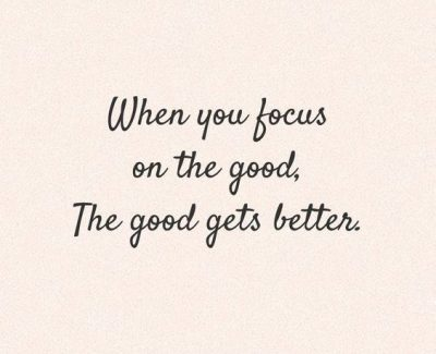 Focus On The Positive Images