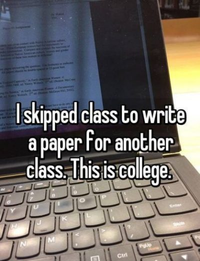 Funny College Quotes For Students