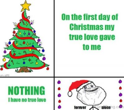 Funny Relationship Christmas Quote