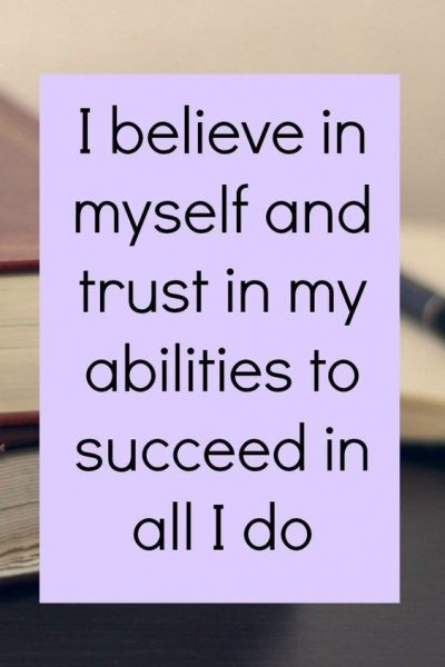 I Believe In Myself Pictures