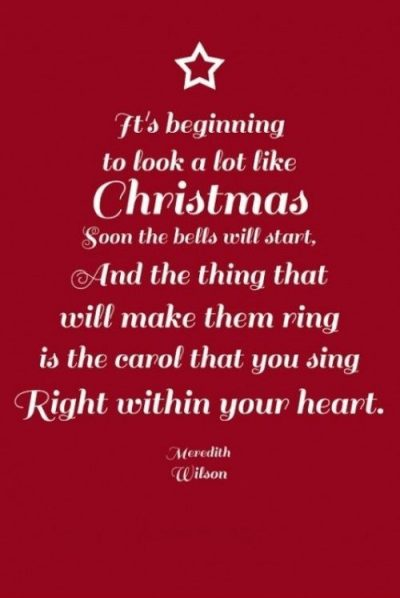 Inspirational Quote About Christmas