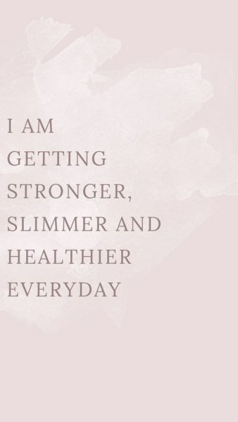 Positive Affirmations Healthy