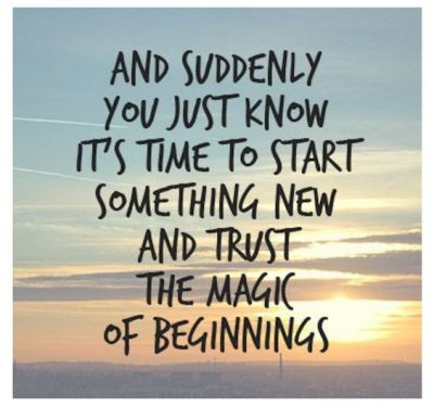 Quote About New Beginning