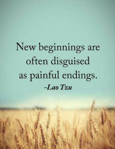 Quotes About Endings & New Beginnings