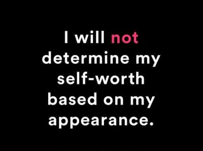 Self Appearance Affirmations