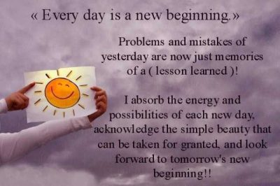 Uplifting Quote On New Beginning