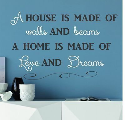 New Home Quotes For Cards