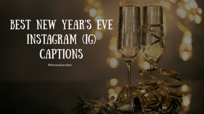 New Years Eve Captions