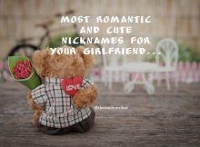 Romantic Nicknames for Girlfriend