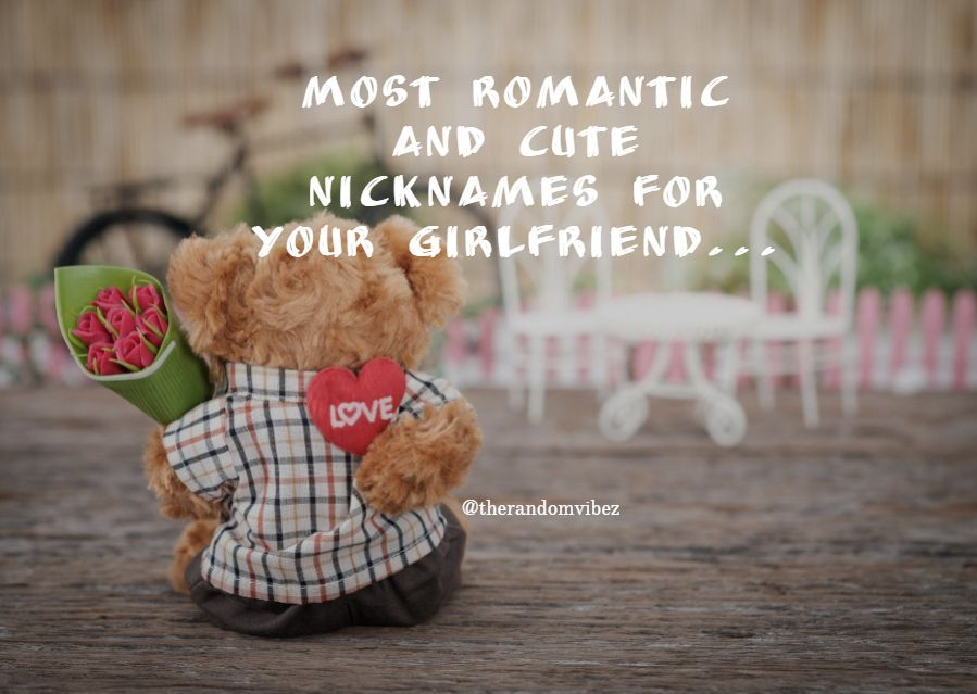Romantic names for your girlfriend