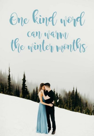 Winter Captions For Couples