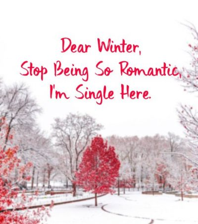 Winter Captions For Singles