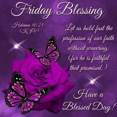 Blessing Quotes For Friday