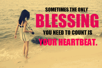 Count Your Blessing Quotes