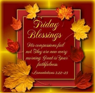 Free Friday Blessing Quotes