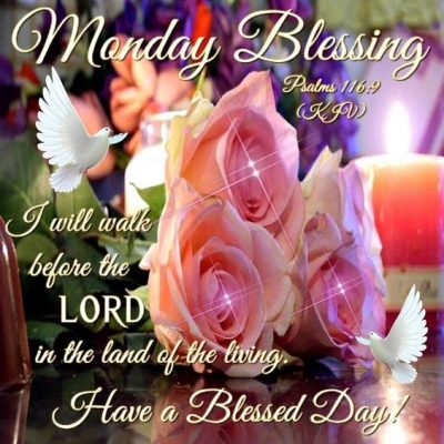 God Bless Your Monday