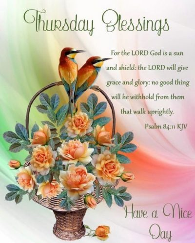 God Bless Your Thursday