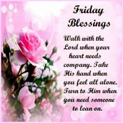 Happy Blessed Friday