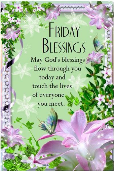 Happy Friday Blessings