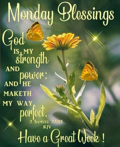 Happy Monday Blessings