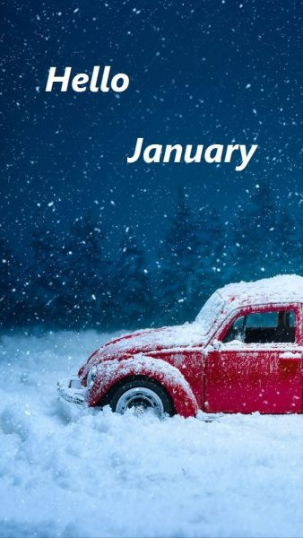 Hello January Month 2020