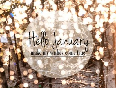 Hello January Wishes Quotes
