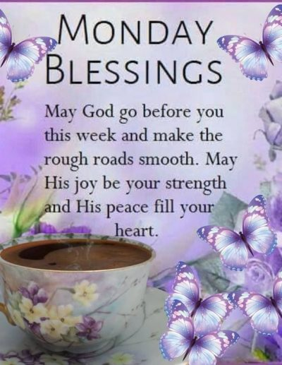 Monday Blessings Quotes