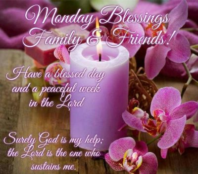 Monday Morning Wishes For Family