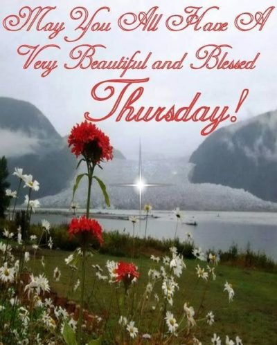 Thursday Good Morning Blessings