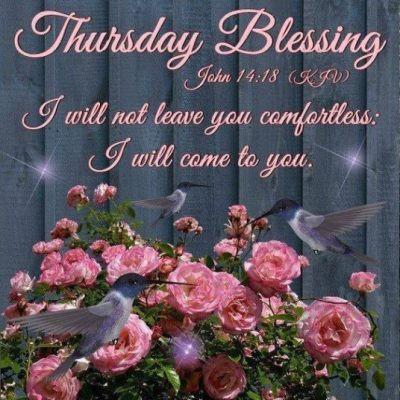 Thursday KJV Quotes