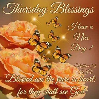 Thursday Morning Blessings
