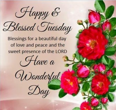 Tuesday Blessing Quotes For Status