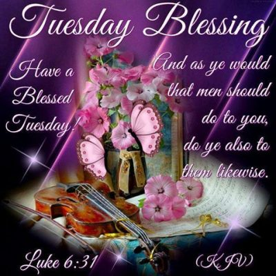 Tuesday Morning Blessings Images