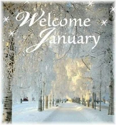 Welcome January Wallpaper for Whatsapp